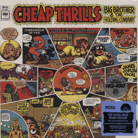 Big Brother & The Holding Comp - Cheap Thrills