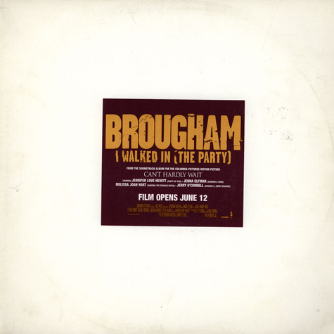 Brougham - I Walked In