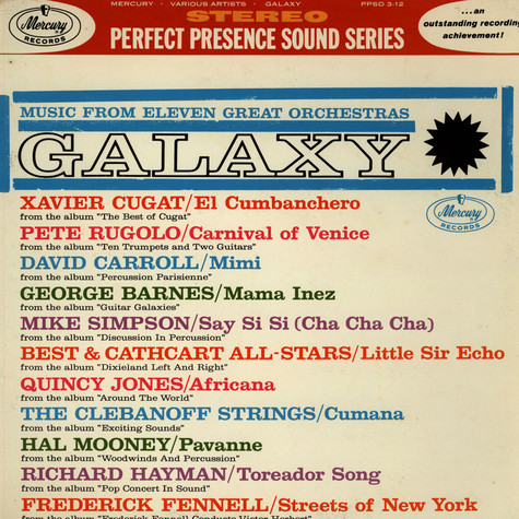 V.A. - Galaxy (Music From 11 Great Orchestras)