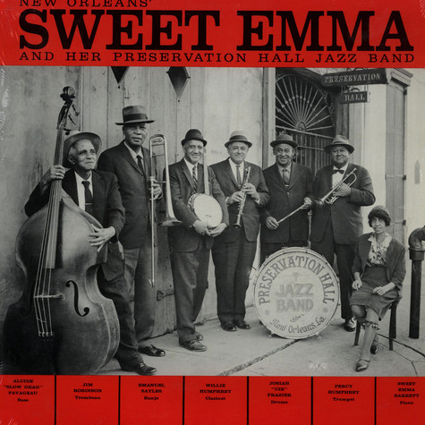 Emma Barrett - New Orleans Sweet Emma And Her Preservation Hall Jazz Band