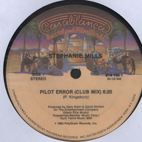 Stephanie Mills - Pilot Error