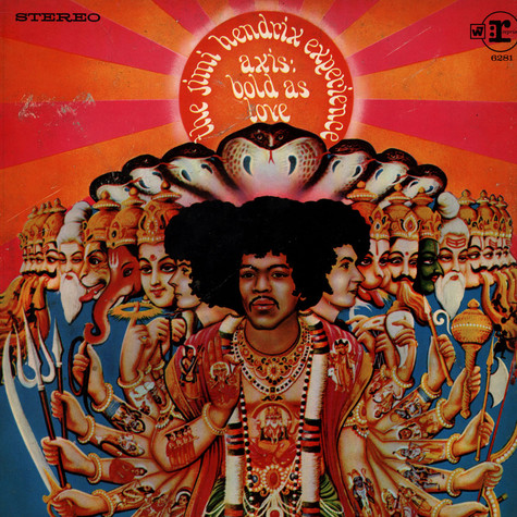 Jimi Hendrix Experience, The - Axis: Bold As Love