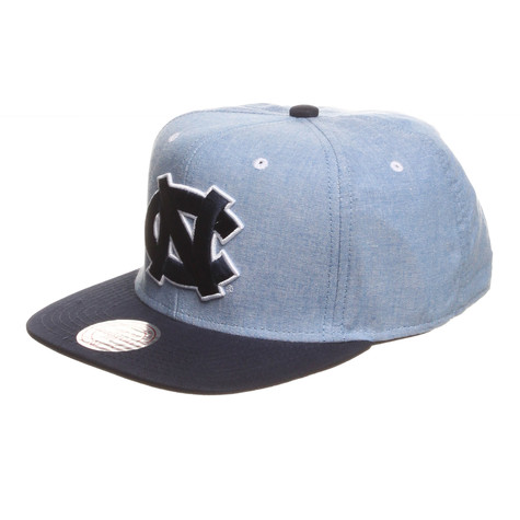Mitchell & Ness - North Carolina Tar Heels NCAA Chambray 2 Snapback Cap