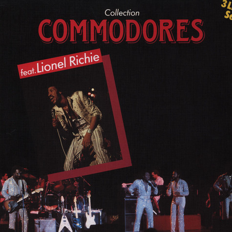Commodores feat. Lionel Richie - Collection 3LP Set
