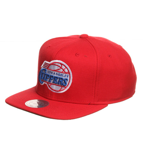 Mitchell & Ness - Los Angeles Clippers NBA Wool Solid 2 Snapback Cap