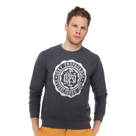 Obey - College Crest Sweater
