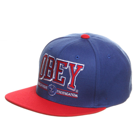 Obey - Athletics Snapback Cap