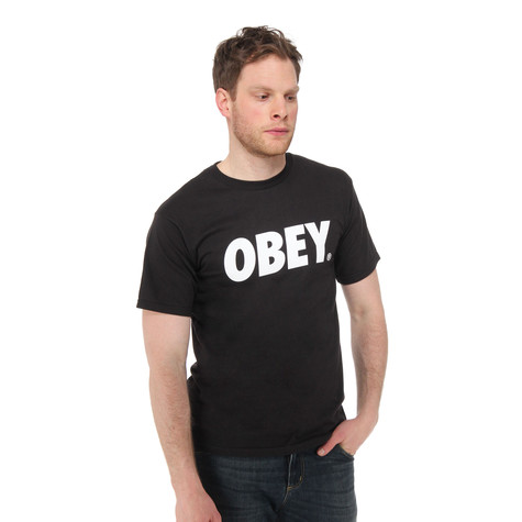 Obey - Obey Font T-Shirt