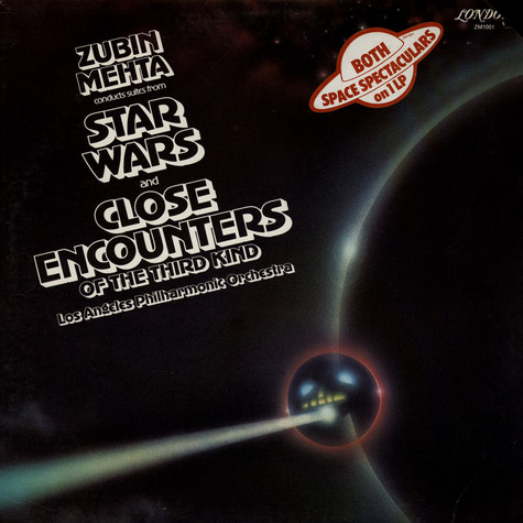 Zubin Mehta Conducts Los Angeles Philharmonic Orchestra - Suites From Star Wars And Close Encounters Of The Third Kind