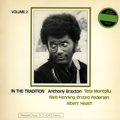 Anthony Braxton - In The Tradition Volume 2