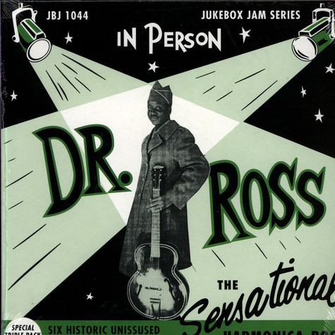 Doctor Ross - The Sensational Harmonica Boss