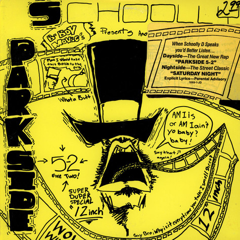 Schoolly D - Parkside 5-2 / Saturday Night