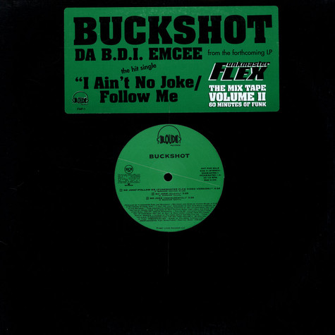Buckshot - No Joke / Follow Me
