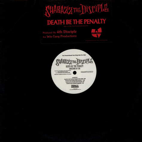 Shabazz The Disciple - Death Be The Penalty