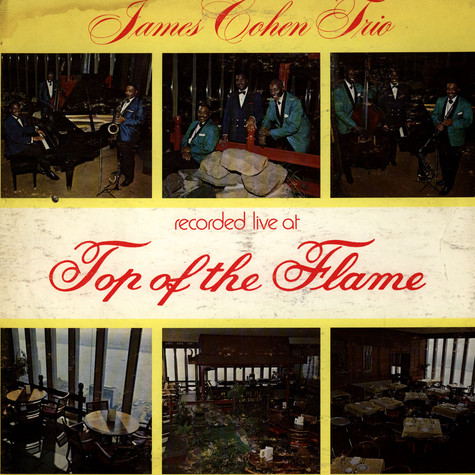 James Cohen Trio, The - Recorded Live At Top Of The Flame