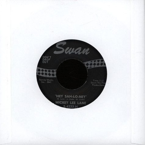 Mickey Lee Lane / Wes Dakus - Hey Sah-lo-ney / Sour Biscuits