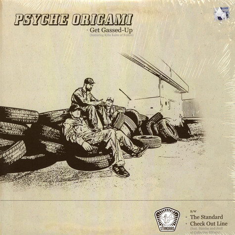 Psyche Origami - Get Gassed-up / The Standard / Check Out Line