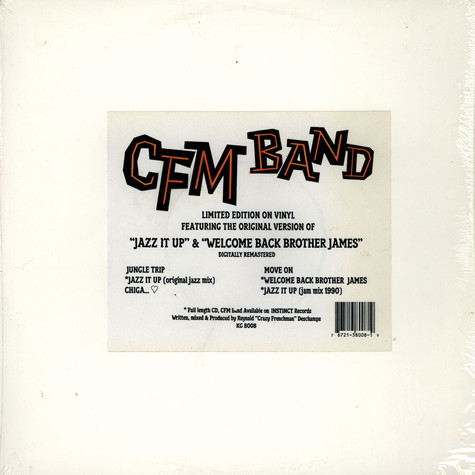CFM Band - Jazz It Up & Welcome Back Brother James