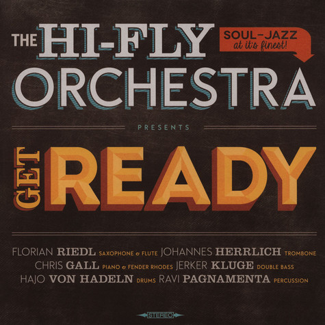 Hi-Fly Orchestra, The - Get Ready