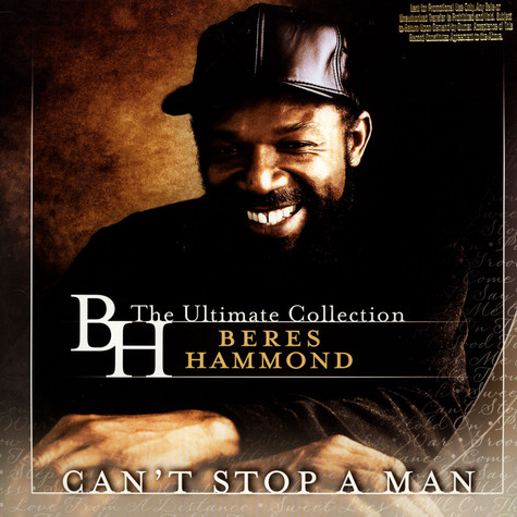 Beres Hammond - Can't Stop A Man: The Ultimate Collection