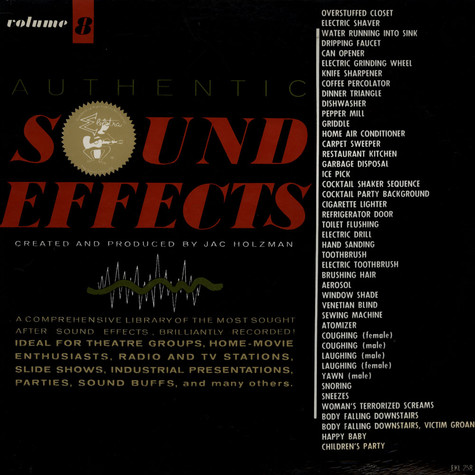 No Artist - Authentic Sound Effects Volume 8