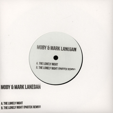 Moby / Mark Lanegan - The Lonely Night