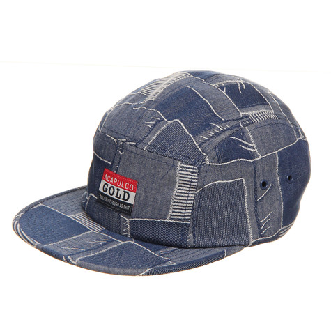Acapulco Gold - Quilted Chambray Camp Cap