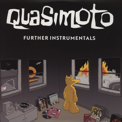 Quasimoto - Further Adventures Of Lord Quas Instrumentals Full Color Sleeve Edition