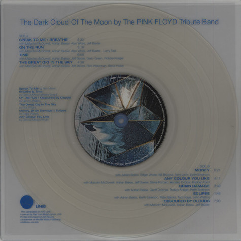 Pink Floyd Tribute Band, The - The Dark Cloud Of The Moon