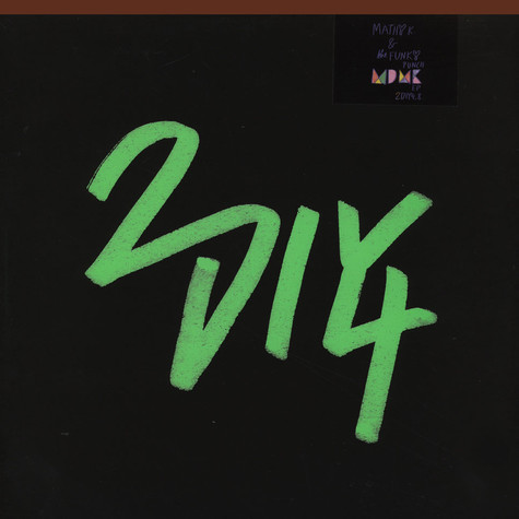 Mathy K. & The Funky Punch - M.d.m.k. EP