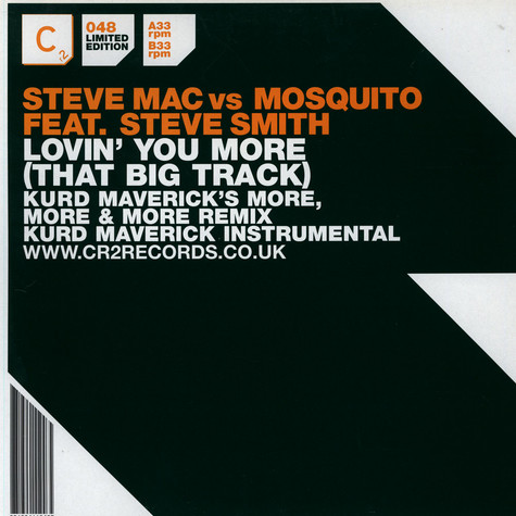 Steve Mac - Lovin' You More