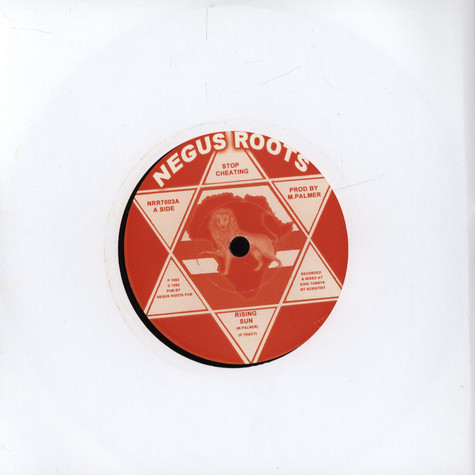 Rising Sun / Negus Roots All Stars - Stop Cheating / Stop Cheating Dubwise