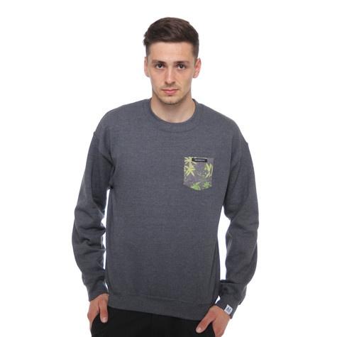 Akomplice - Weed Camo Pocket Crewneck Sweater