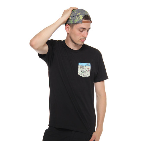 Akomplice - Nudist W Pocket T-Shirt