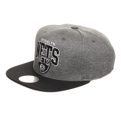 Mitchell & Ness - Brooklyn Nets NBA Team Arch Jersey Snapback Cap