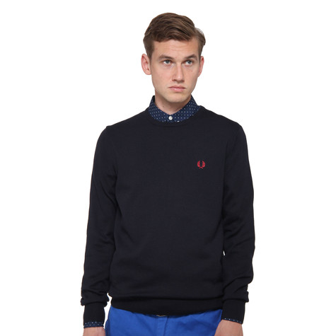 Fred Perry - Classic Tipped Crewneck Sweater