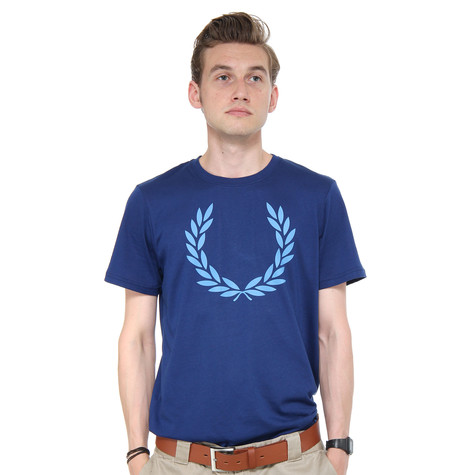 Fred Perry - Laurel Print T-Shirt