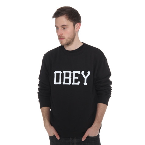 Obey - Varsity Obey Crewneck Sweater