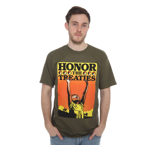 Obey - Honor The Treaties T-Shirt