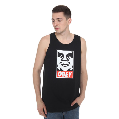 Obey - Obey Icon Face Tank Top