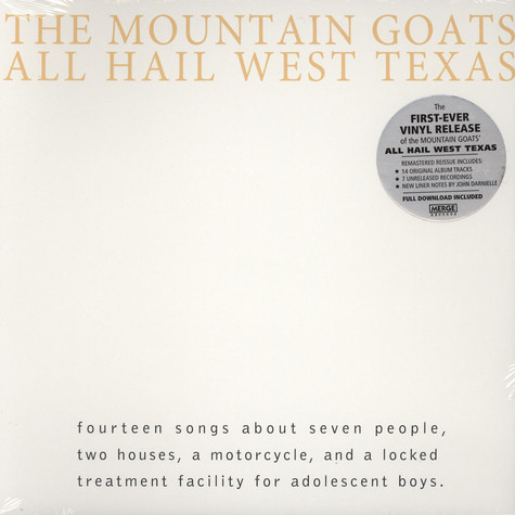 Mountain Goats - All Hail West Texas