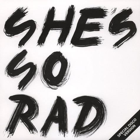 She's So Rad - Last Dance EP