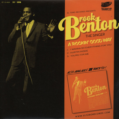 V.A. - Brook Benton The Singer And The Songwriter