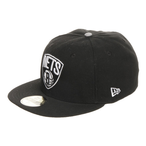 New Era - Brooklyn Nets NBA Patched Team 59Fifty Cap