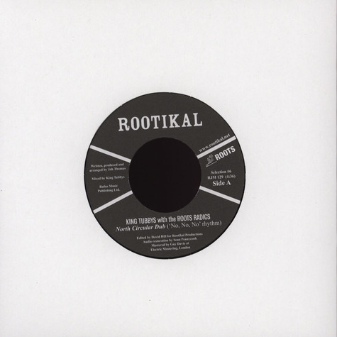 King Tubbys With The Roots Radics - Nirth Circular Dub