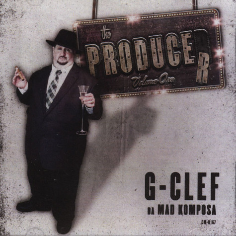G-clef Da Mad Komposa - Producer 1
