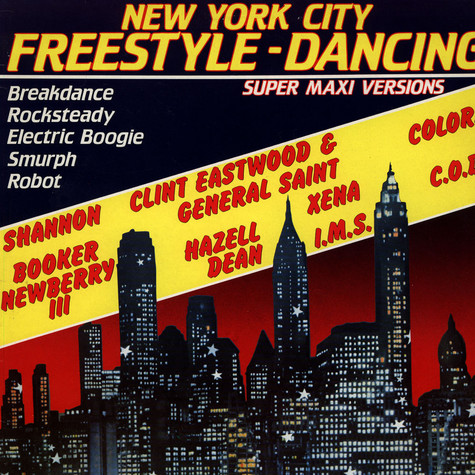V.A. - New York City Freestyle Dancing