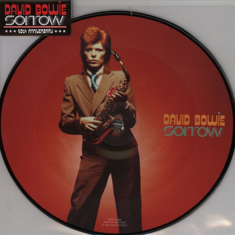 David Bowie - Sorrow 40th Anniversary Picture Disc
