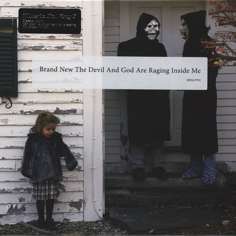 Brand New - The Devil And God Are Raging Black Vinyl Edition