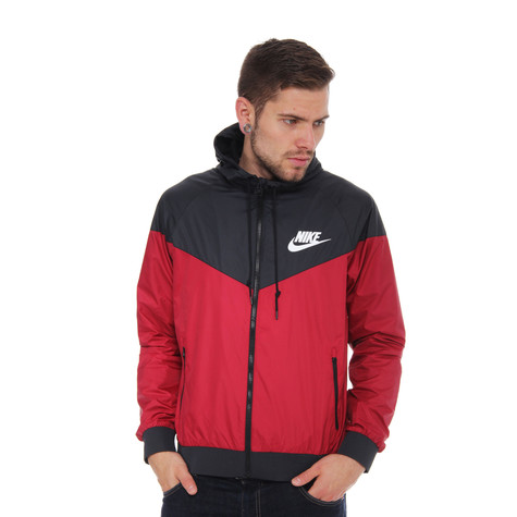 8d104d02f679ac Nike - Windrunner Jacket (Team Red   Black   White)